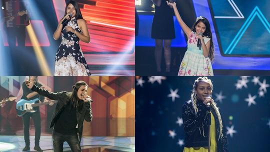 Confira as cartinhas dos finalistas para os técnicos do 'The Voice Kids' na íntegra