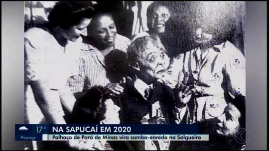 Nascido em Pará de Minas, primeiro palhaço negro do país será tema de samba no carnaval