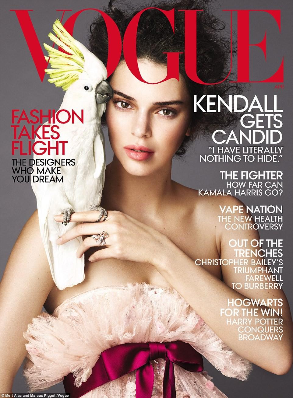Kendall Jenner (Foto: Vogue)