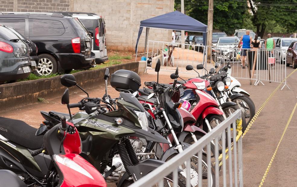 RN tem uma frota de aproximadamente 40 mil motocicletas  — Foto: Érico Andrade/G1