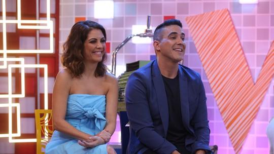 André Marques relembra apelido em brincadeira com Thalita Rebouças