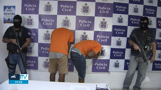Suspeitos de envolvimento em ataques as agências bancárias de Catu são presos em UPA de Salvador