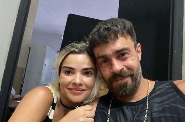 Vanessa Giácomo e Erom Cordeiro (Foto: Arquivo pessoal)