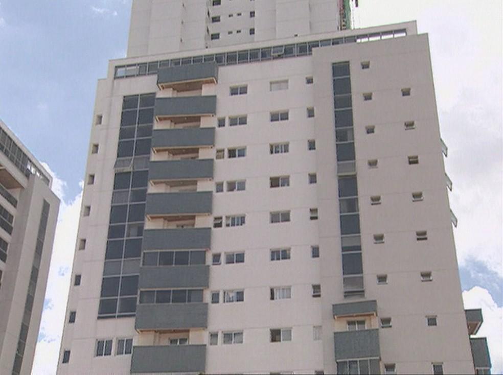 O residencial Monet, em Águas Claras — Foto: TV Globo/Reprodução