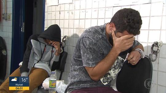 PRF prende dois suspeitos e apreende drogas em Sabará, na Grande BH