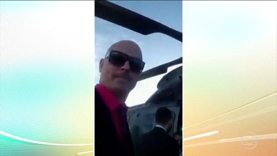 Bolsonaro fala sobre o uso de helicóptero da FAB por parentes