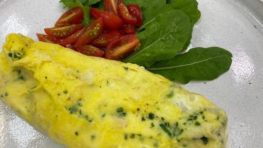 Omelete no Saco