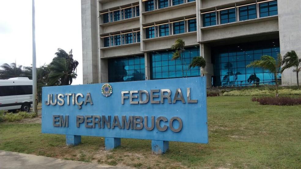 Caso chegou à 13ª Vara da Justiça Federal, na segunda-feira (24)  — Foto: Marina Meireles/G1