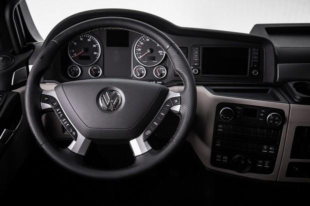 Volkswagen Meteor Interior Cabine (Foto: Divulgação)