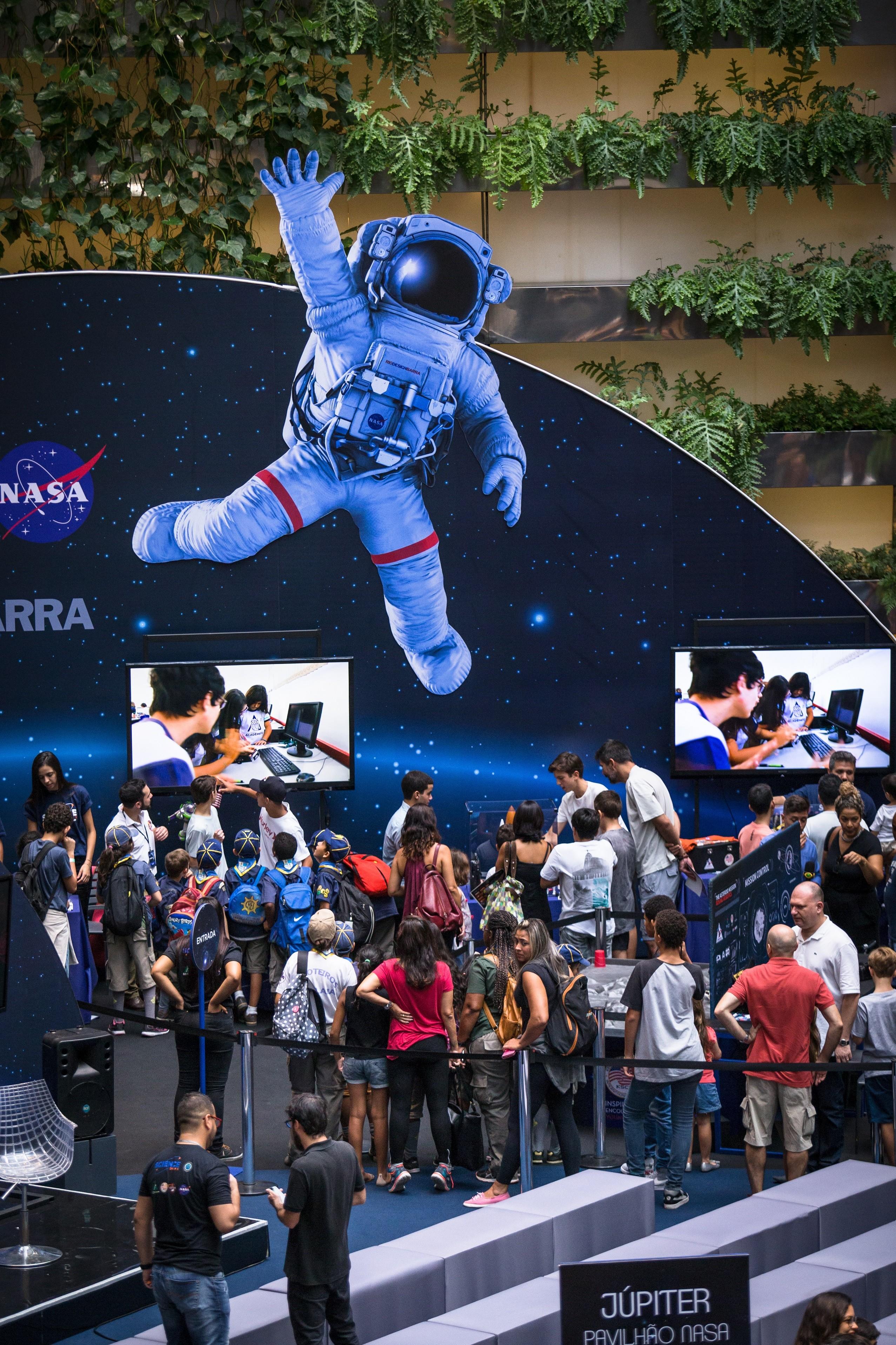 segunda edição do NASA Science Days ocorre em shopping de todo Brasil  (Foto: Divulgação)