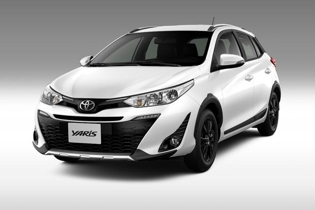 Toyota Yaris X-Way  (Foto: Divulgação)