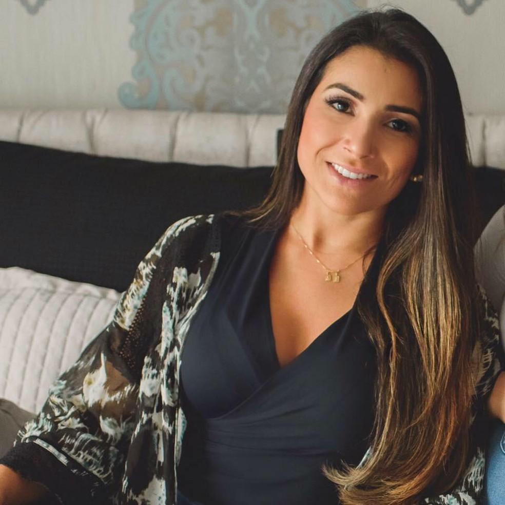 Fernanda Damian de Almeida estava grávida — Foto: Reprodução