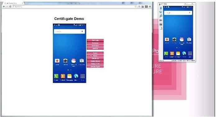 Demonstração apresenta aplicativo malicioso tomando controle total de um Galaxy (Foto: Divulgação/Check Point)
