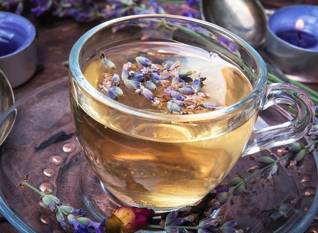 Chá de lavanda (Foto: Thinkstock)