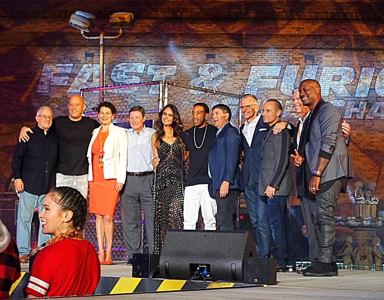 """Elenco de """"Velozes e Furiosos"""" - Universal Orlando"""