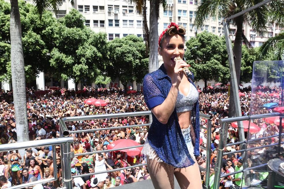 Claudia Leitte arrasta multidões no Rio — Foto: Reginaldo Teixeira/ Divulgação