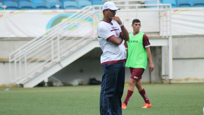 América-RN - Felipe Surian - técnico (Foto: Canindé Pereira / América FC)