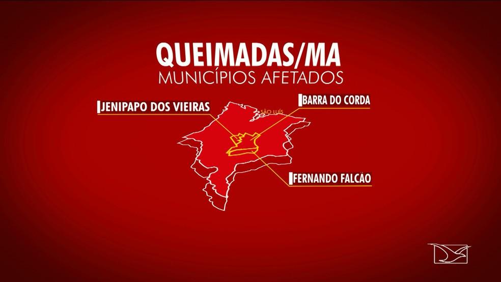 Defensoria pediu medidas para os municípios da região (Foto: Reprodução/TV Mirante)
