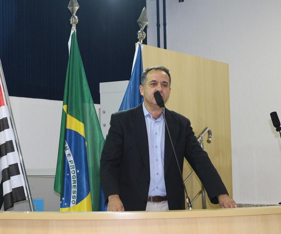 Texto é de autoria do vereador Boanerges (PTB) — Foto: Divulgação/Câmara de Taubaté