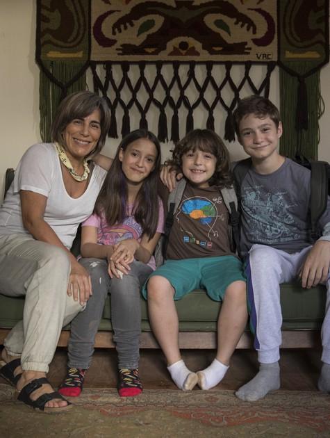 Gloria Pires no filme 'Vovó ninja' (Foto: Stella Carvalho)