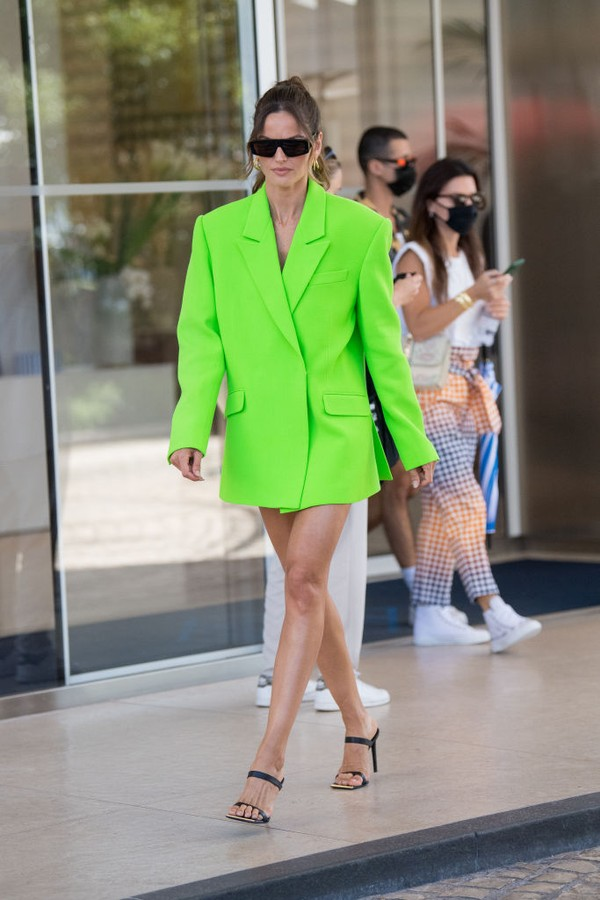 CANNES, FRANCE - JULY 07: Izabel Goulart is seen during the 74th annual Cannes Film Festival on July 07, 2021 in Cannes, France. (Photo by Jacopo Raule/GC Images) (Photo: GC Images)