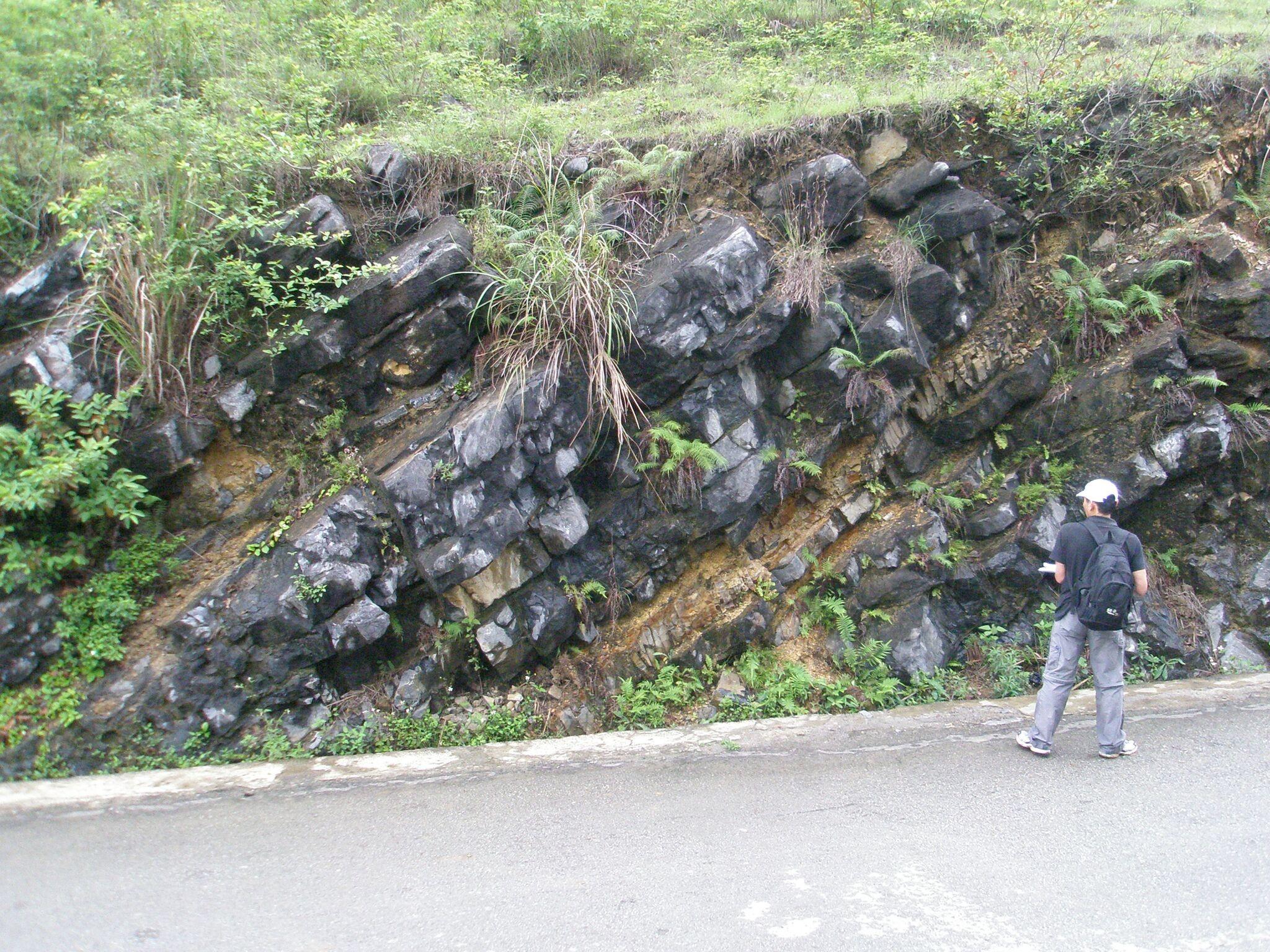Trabalho de campo ao sul da China, próximo à fronteira com o Vietnã: geofísico do ON vai estudar rochas da região (Foto: Divulgação)