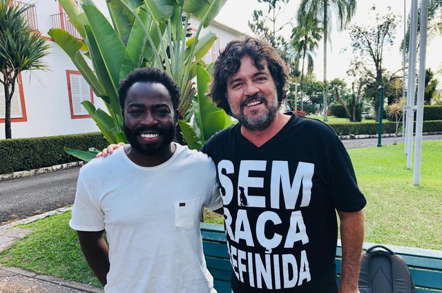 Felipe Camargo e Douglas Silva (Foto: Arquivo pessoal)