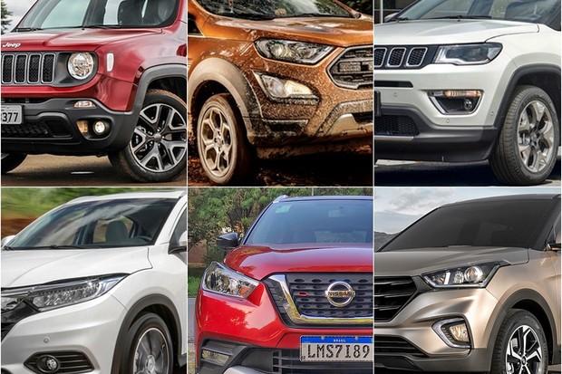 HOME SUVs mais vendidos (Foto: Autoesporte)