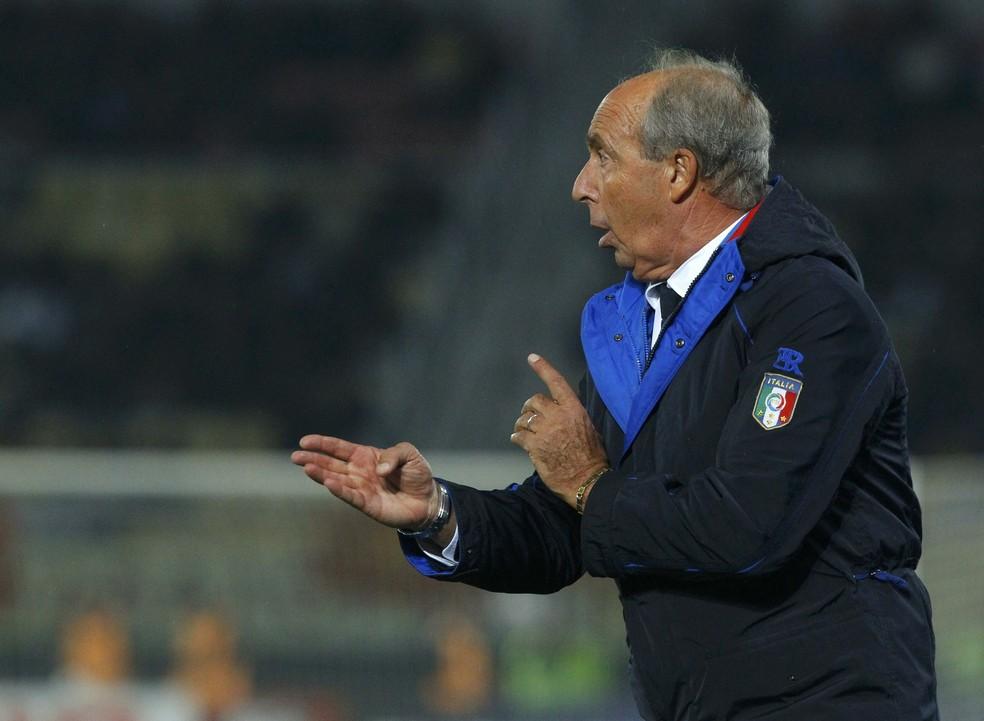Giampiero Ventura teve sua escolha muito criticada (Foto: REUTERS/Ognen Teofilovski)