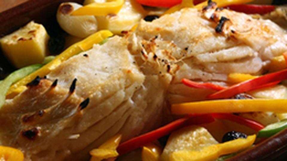 Resultado de imagem para Receita de Batata doce chips com bacalhau à portuguesa