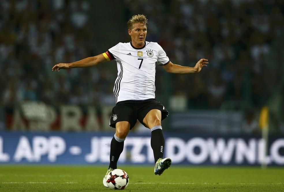 Schweinsteiger se aposentou da seleção alemã (Foto  Reuters ) 840bff66e45ff