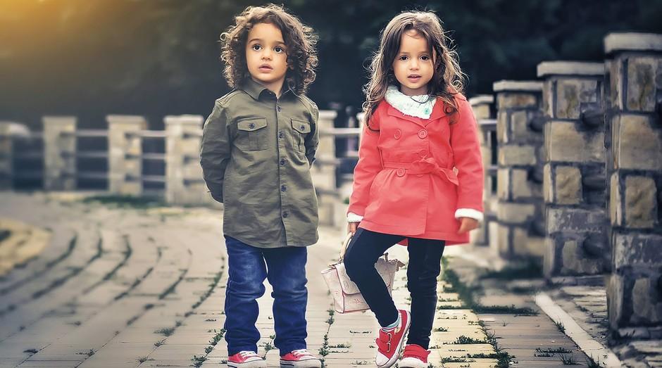 crianças, luxo, moda (Foto: Reprodução/Pexels)