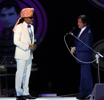 Carlinhos Brown e Roberto Carlos