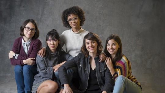 'Making Five': Episódio Bastidores destaca o amadurecimento de Benê, Tina, Ellen, Lica e Keyla