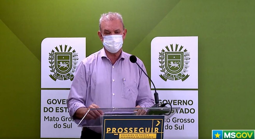 Secretário estadual de Saúde, Geraldo Resende — Foto: Redes Sociais/Reprodução