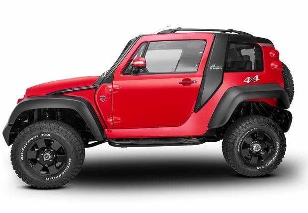 Nova versão do jipe Stark, da TAC Motors (Foto: Divulgação TAC Motors)
