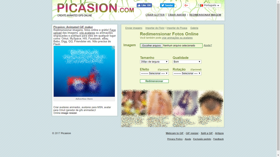 Além de redimensionar, Picasion faz edições simples (Foto: Reprodução/Bruno Soares)
