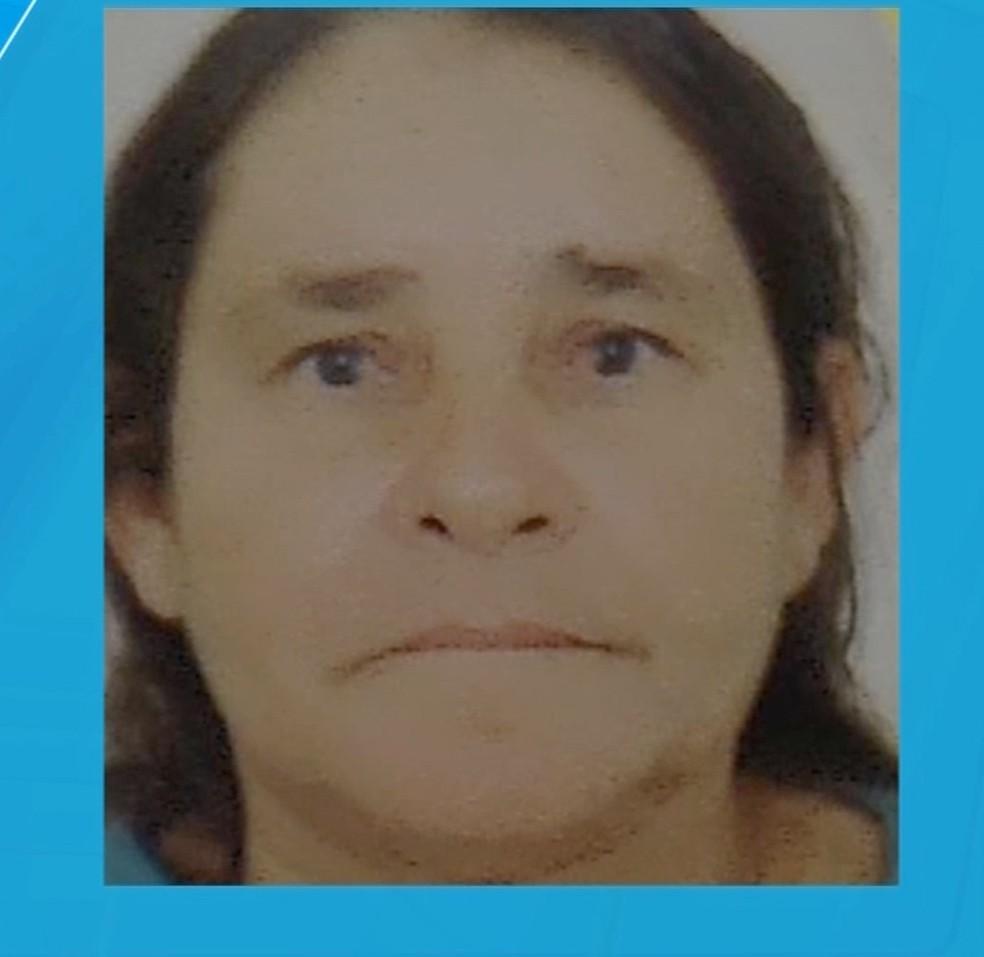 Maria de Lourdes Barbosa da Silva, de 61 anos, foi morta com golpes de marreta em Sinop — Foto: TV Centro América/Reprodução