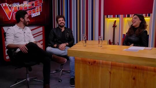 Ex-participantes do 'The Voice Brasil' comentam primeira semana de 'Batalhas' com Mariana Rios