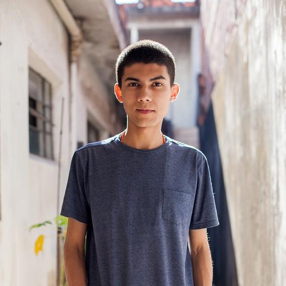 JOÃO ROBIN | 17 anos | Etec Fernando Prestes | Sorocaba, SP (Foto: Tuca Vieira e Joel Rocha)