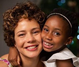 Leandra Leal e a filha, Júlia | Reprodução