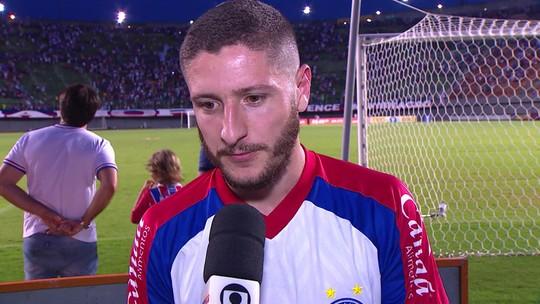 Após última partida pelo clube, Zé Rafael fala como foi passagem pelo Bahia