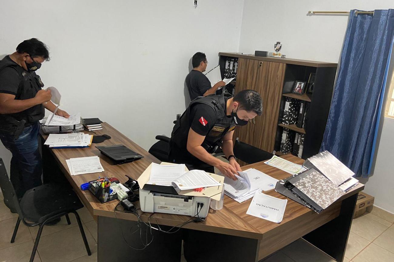 Polícia Civil realiza operação que investiga desvio de recursos público no sudoeste do Pará