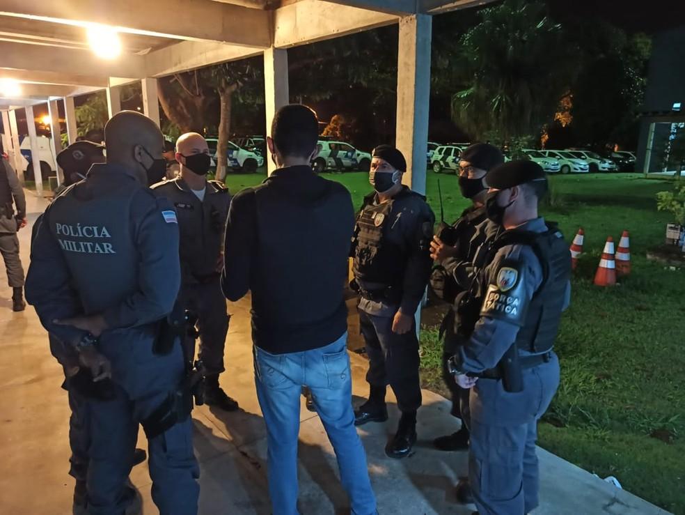 Policiais deram início à operação no Norte do ES na madrugada desta terça-feira  — Foto: Reprodução/Sesp