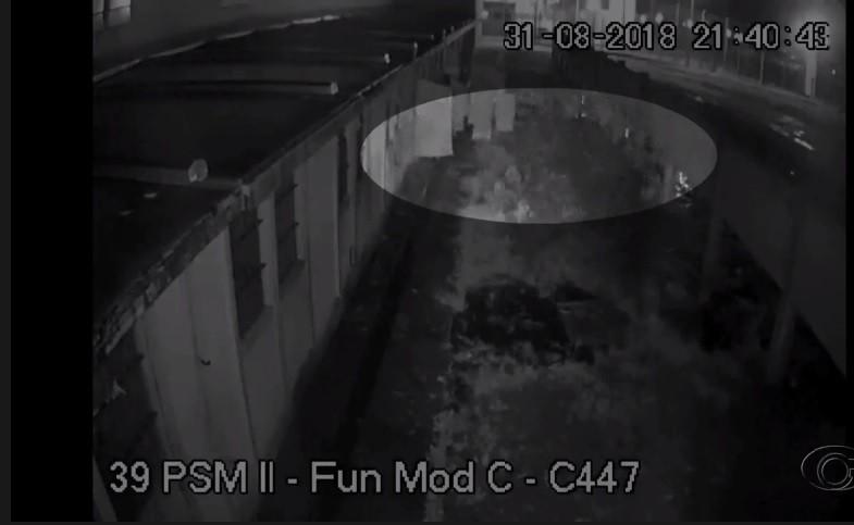 VÍDEO: Câmeras flagram fuga da Penitenciária de Segurança Máxima, em Maceió