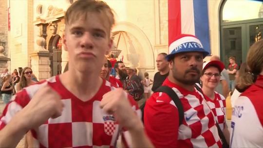Crostas estão felizes mesmo com o vice=campeonato da Copa do Mundo