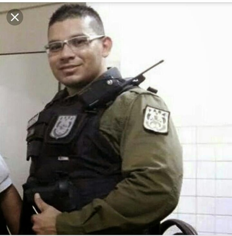 Policial militar Taliandresson Junio Pereira Alves teria recebido R$ 10 mil para cometer o crime — Foto: Polícia Civil/Divulgação