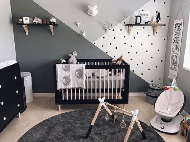 Preto No Quarto Do Beb 234 Pode Usar Sim Crescer