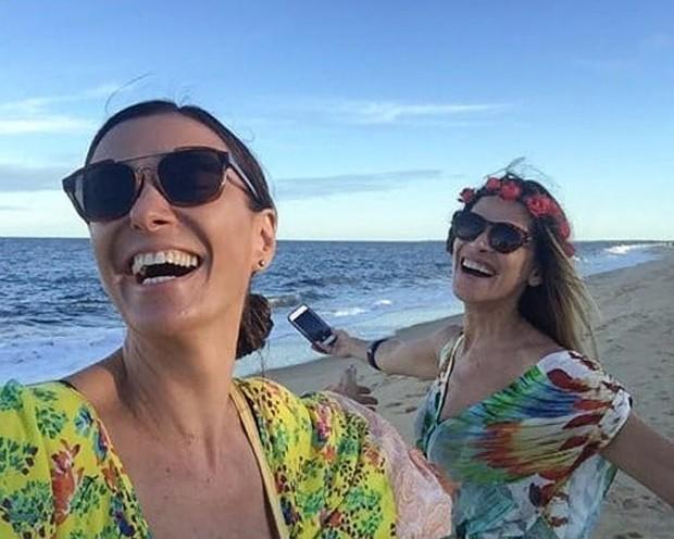 Monica Martelli e Ingrid Guimarães (Foto: Reprodução/Instagram)