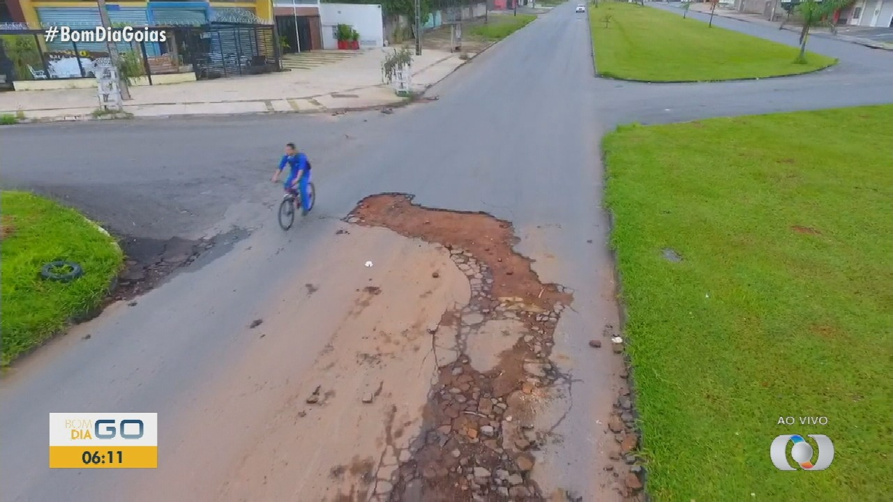 Chuva causa estragos na Grande Goiânia